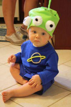 diy little green men alien costume diy disney sew sewing alien costumesbaby costumescostume halloweentoy - Aliens Halloween Costume Baby