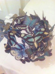 Butterflies from reclaimed materials 2
