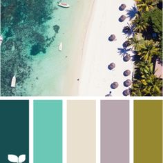 beach hues. One of my favorites.
