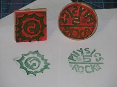 how to make stamps from craft foam