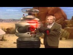 Lost in Space - Dr Smith and  The Robot.