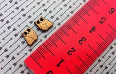 Laser Cut Wooden Owl  Earring Supplies 6 pairs by CraftyCutsLaser, $7.00