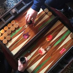BESPOKE BACKGAMMON BY ALEXANDRA LLEWELLYN | CURRENT WORK AND INSPIRATION