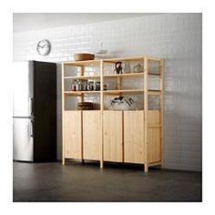 "IVAR Cabinet, pine - pine - 32x20x33 "" - IKEA"