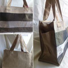Bolso reutilizable, lavable a máquina, plegable y con tirantas reforzadas. #upcycling #totebag #shoppingbag #patchwork #savetheplanet  Cada bolso es una pieza única.  Diseño exclusivo.