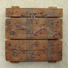 Часы в стиле лофт №1