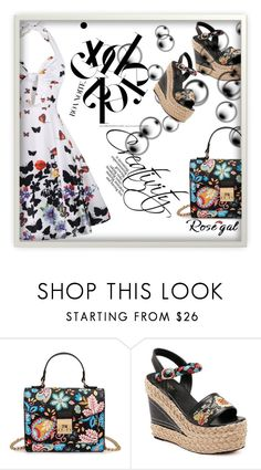 """""""Rosegal"""" by belma-cibric ❤ liked on Polyvore featuring vintage"""
