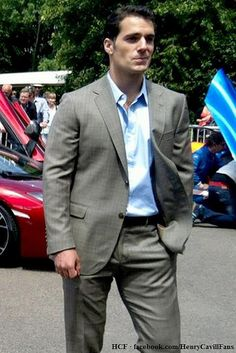 Henry Cavill at the Goodwood Festival of Speed, Young Guns Born to Win Theme, as Guest Passenger in the McLaren 12C, July 1st, 2012. by The Henry Cavill Verse, via Flickr