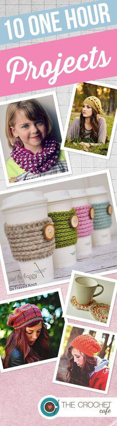10 One Hour Projects (Pinterest)