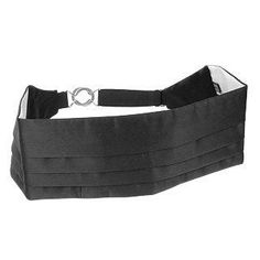 **New arrival** -Pleated Pure Silk Cummerbund -   The cummerbund – Italian style. This classic formalwear accessory is traditionally worn by attendees of the Italian high society ball the Gran Gala. An adjustable elastic closure assures that this piece will be the perfect fit. Made in Italy.
