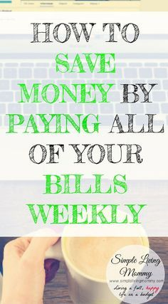 This money saving hack is sure to save your budget and make you feel like you've been given an instant pay raise. This is an amazing frugal living tip whether you budget for a family or just one individual. I love lifehacks like this! by kentuckylee Read Ways To Save Money, Money Tips, Money Saving Tips, Money Budget, Managing Money, Money Hacks, Money Plan, Budgeting Finances, Budgeting Tips