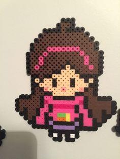 Mabel Pines Gravity Falls perler beads by Faleepai's Emporium