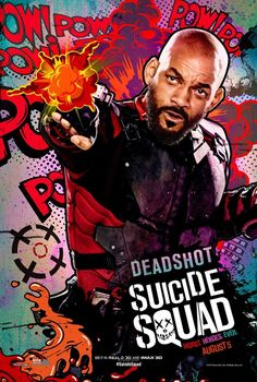 Suicide Squad posters : Will Smith est Deadshot
