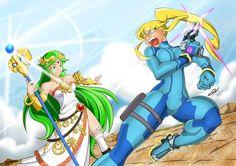 Super Smash Bros - Brazil Collab - ZS Samus X Lady Palutena | #SmashBros #Samus #ZSS