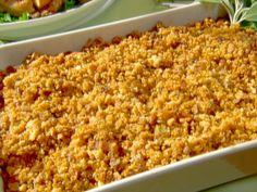 Neely's Holiday Cornbread Stuffing Recipe : Patrick and Gina Neely : Recipes : Food Network Wheat Free Recipes, Gf Recipes, Dairy Free Recipes, Clean Recipes, Food Network Recipes, Cooking Recipes, Stuffing Recipes, Cornbread Stuffing, Stuffing Mix