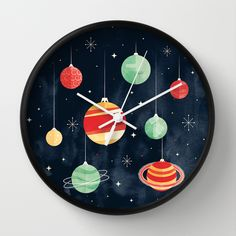 Buy Joy to the Universe by littleclyde as a high quality Wall Clock. Worldwide shipping available at Society6.com. Just one of millions of products available.  https://society6.com/product/joy-to-the-universe_wall-clock?curator=christinebssler