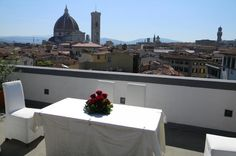 Get Married in Florence Choose Florence as the ideal setting for your symbolic wedding or vows renewal ceremony. You will enjoy a truly unique, unforgettable experience! The event will take place on a romantic terrace overlooking the historical town center, on the top roof of an elegant 4 star hotel.This package for 2 includes professional photography, small reception, a complete meal (lunch or dinner) and a great customer service experience!If you want to get symbolically mar...