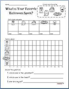 halloween graph.