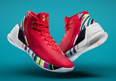 The UA Curry 3 Chinese New Year is available on January 21st, 2017 for $140 USD at select retailers. The vibrant colorway features a graphic printed midsole