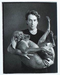 William Wegman and Fay Ray, 1988 - Annie Leibowitz photo