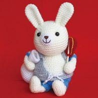 Bunny Amigurumi ~ Free Japanese Chart ( Direct to PDF pattern)
