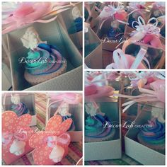 Cupcake Rainbow di Sapone artigianale e decorativo