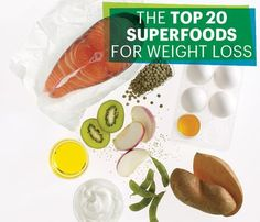 20 Superfoods for Weight Loss: Food & Diet: Self.com : It's time for a new slim-down mantra: Eat more to weigh less. The right foods help you drop up to two pounds a week by revving your calorie burn and curbing cravings. Tell us below, which superfoods do you love and which do you skip? via @SELF Magazine