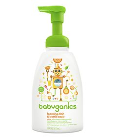 Love this Citrus Foam Dish/Bottle Soap - Set of Three by Babyganics on #zulily! #zulilyfinds