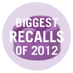 Safety first! Learn about the biggest toy, gear, and clothing recalls of 2012: http://www.parents.com/product-recalls/biggest-recalls-of-the-year/?socsrc=pmmpin121712PTTBiggestRecalls