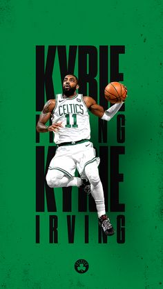 Sport – Renna J. I Love Basketball, Basketball Pictures, Basketball Legends, Basketball Players, Kyrie Irving Celtics, Kyrie Irving 2, Irving Wallpapers, Nba Wallpapers, All Nba Players