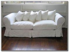 Slipcovered Sleeper Sofas