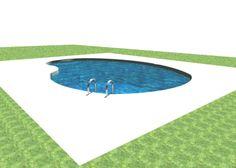 piscina interrata creata da me!