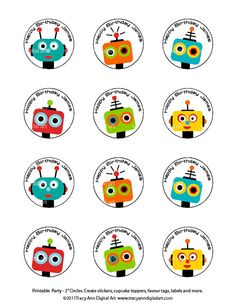 good to know Beautiful Party Ideas www.it Robot party First Birthday Parties, Boy Birthday, Birthday Ideas, Robot Cake, Robot Theme, Celebrate Good Times, Space Party, Party Printables, Party Time