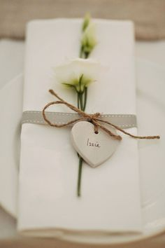 Trendy wedding table names tags place settings ideas Wedding Table Name Cards, Wedding Table Flowers, Tent Wedding, Wedding Table Settings, Wedding Centerpieces, Wedding Decorations, Wedding Ideas, Wedding Rustic, Wedding Simple
