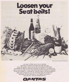 Qantas advert 1960s