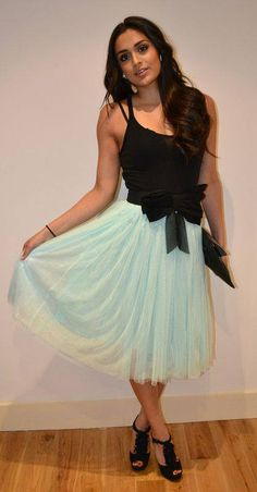 Mint Tulle Skirt    30 euros    Also available in pink, cream, black, grey, lilac, or any colour you like.     www.stores.ebay.ie/NoDoubtOnTrend www.etsy.com/shop/NoDoubtOnTrend