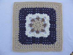 Sunshine Jewel Granny Square pattern by Kimberly Andrew