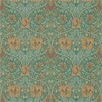 The Original Morris & Co - Arts and crafts, fabrics and wallpaper designs by William Morris & Company | Products | British/UK Fabrics and Wallpapers | Honeysuckle & Tulip (DM3W214704) | Archive III Wallpapers
