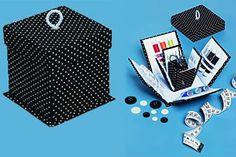 É bacana dar uma organizada nos equipamentos de costura! Vamos te mostrar como fazer uma linda caixinha para dar conta dos seus utensílios de ...