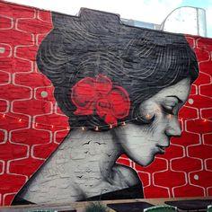 streetart art Wbg