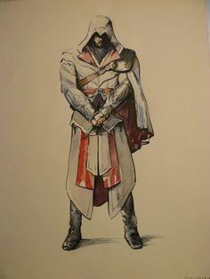 Ezio Watercolor