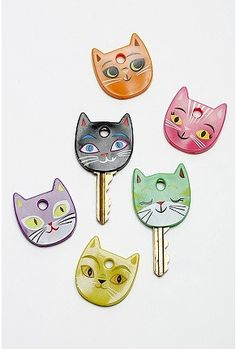 kitty key covers.