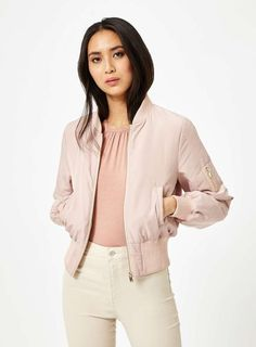 £10 Off Selected Bomber Top Branded Women's #Jackets  #womenswear #fashion