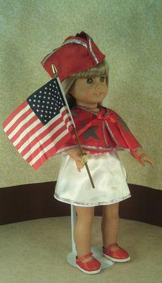 American Molly's Patriotic Show Dance Costume. by GrannySallyAnns, $12.00