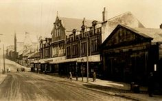 Town centre. Glossop. Local History, Family History, Domesday Book, South Yorkshire, Derbyshire, Vintage Photos, Centre, England, Live