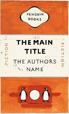 Jan Tschichold's mock-up for the Penguin re-design