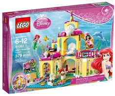 These new Lego Disney Princess sets will include the super popular films Frozen, Aladdin, Sleeping Beauty, and The Little Mermaid. They will sell out…