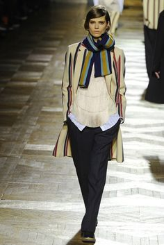Dries Van Noten, Fall 2013. #pfw