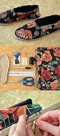 Sewing Slippers, Felted Slippers, Sewing Tutorials, Sewing Hacks, Sewing Patterns, Fabric Crafts, Sewing Crafts, Sewing Projects, Sewing Clothes