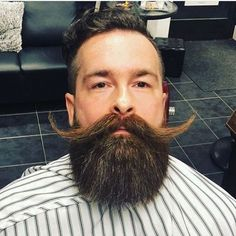 """Beard care """"No ingredient or product for sale hasn't already been used on my own infant son - Craig McKay"""" Our owners quality guarantee. Walrus Mustache, Beard No Mustache, Goatee Styles, Beard Styles, Styles Barbiche, Schnauzer, Beard Barber, Types Of Beards, Beard Model"""